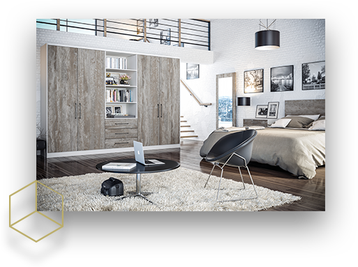 Bedrooms by Unitsize
