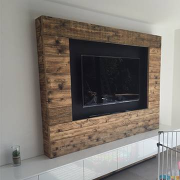 Reclaimed TV Unit